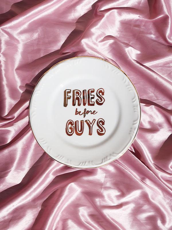 Prato Raso Fries Before Guys