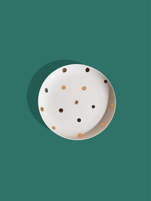 Prato Raso Polka Dots
