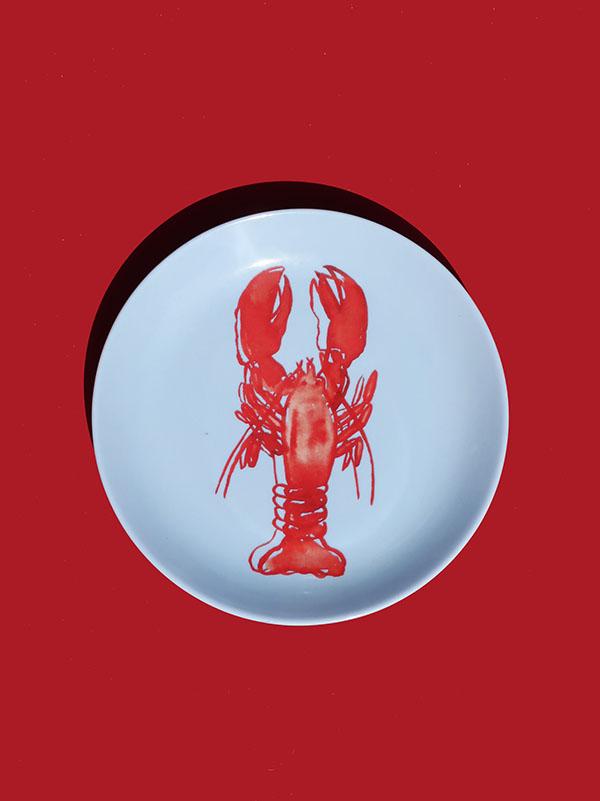 Prato de Sobremesa Lobster