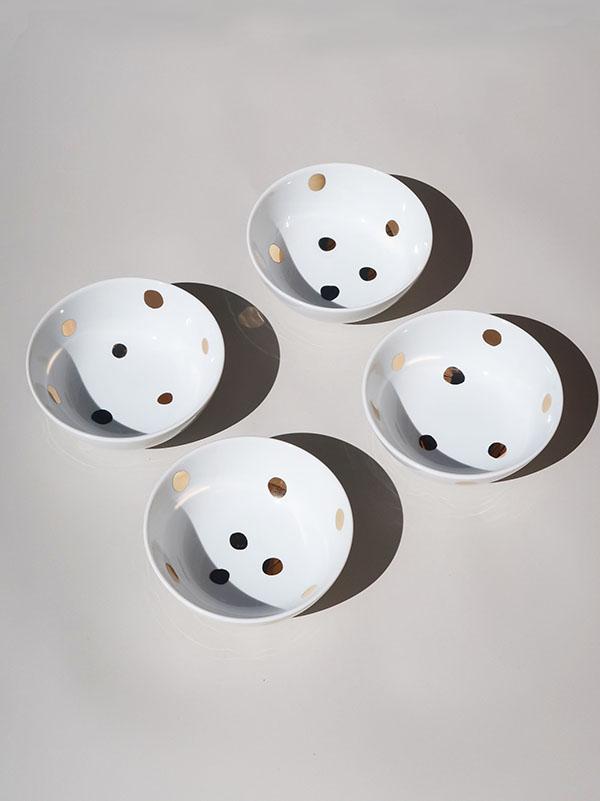Bowl Polka Dots
